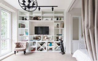 Гостиная и спальня в одной комнате — какой вариант выбрать?