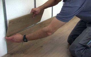 Укладка ламината на стену — варианты и пошаговая инструкция