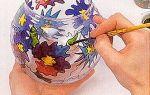 Витраж на стекле своими руками — инструкции для начинающих