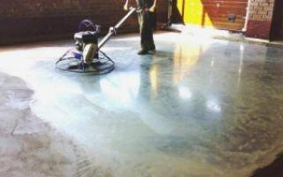 Упрочнение бетонного пола — виды сухих смесей и пропиток, процесс упрочнения