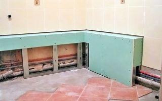 Как скрыть трубы в туалете и ванной комнате — несколько способов и пошаговый монтаж своими руками