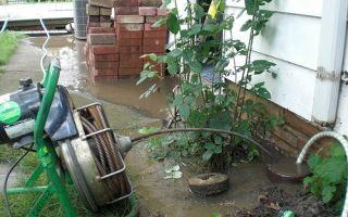 Технология прочистки ливневой канализации — как провести самостоятельно