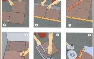 Укладка керамогранита на пол своими руками — иллюстрированная пошаговая инструкция