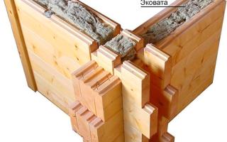 Что собою представляет технология строительства домов из двойного бруса — разбираемся в «за» и «против»