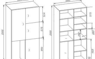 Как сделать шкаф на балконе своими руками — инструкция с иллюстрациями
