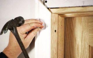 Изготовление дверей своими руками — инструкция