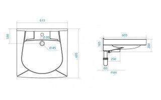 Установка раковины над стиральной машиной — решение проблемы тесной ванной