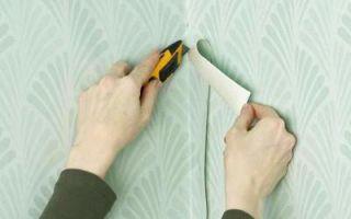 Как клеить виниловые обои — учимся самостоятельной отделке помещения