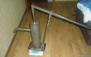 Ручной насос для воды из скважины — разновидности, устройство, основные правила применения