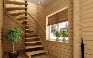 Деревянная лестница своими руками — попробуйте свои силы