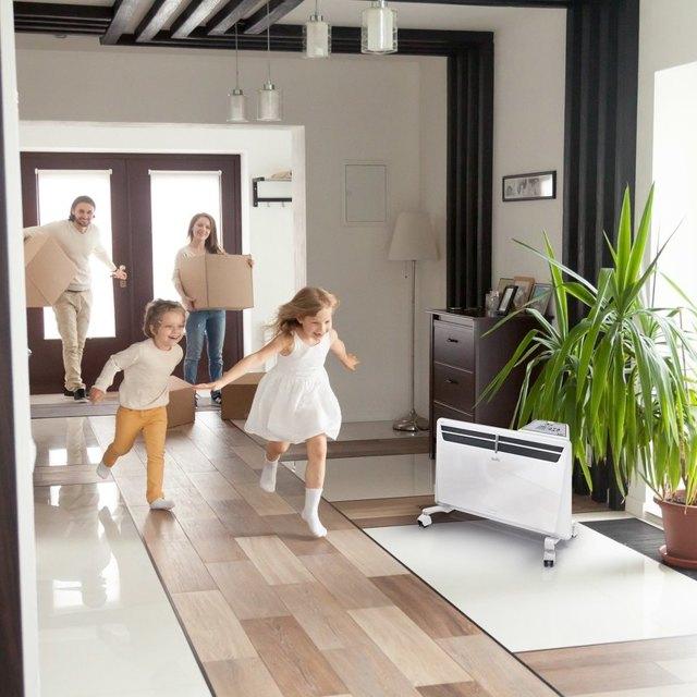Можно ли нагреть дом обогревателями и сколько это стоит - считаем и обосновываем