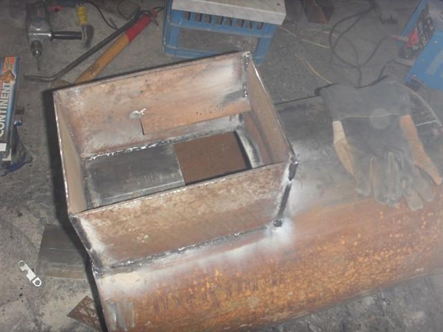 Печь длительного горения для гаража - чертежи и пошаговые инструкции