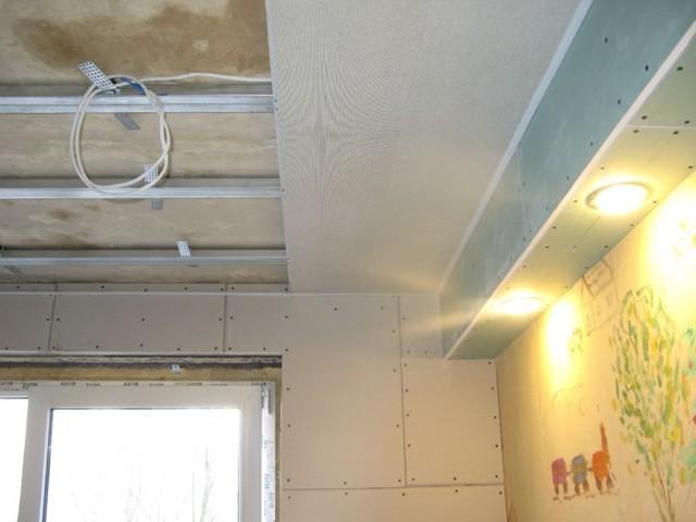 Как сделать пластиковый потолок своими руками? выбор материала, фото, видео