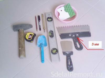 Как класть кафель на пол - инструкция для начинающих