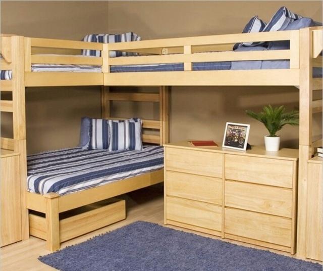 Как сделать двухъярусную кровать своими руками - два доступных варианта