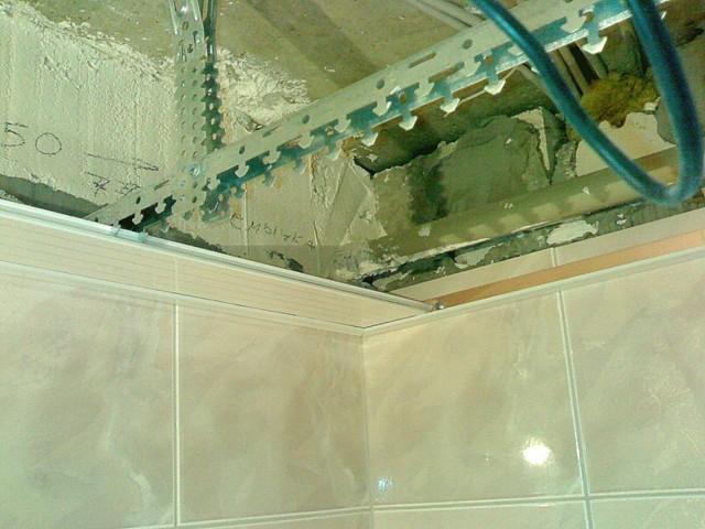 Пластиковый потолок своими руками - монтаж, инструкция