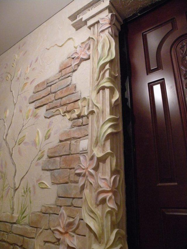 Барельеф на стене своими руками - пошаговая инструкция