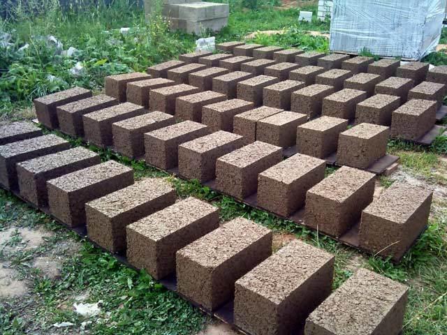Арболитовые блоки своими руками - технология