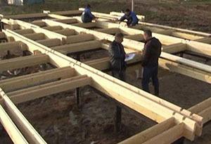 Что собою представляет технология строительства домов из двойного бруса - разбираемся в