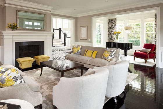 Расставляем мебель в гостиной: главные правила лучшей планировки