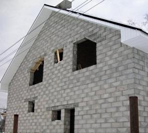 Как сделать фронтон двухскатной крыши - несколько вариантов строительства