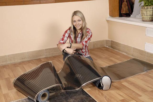 Теплый пол под линолеум на деревянный пол - ТОП-5 лучших моделей