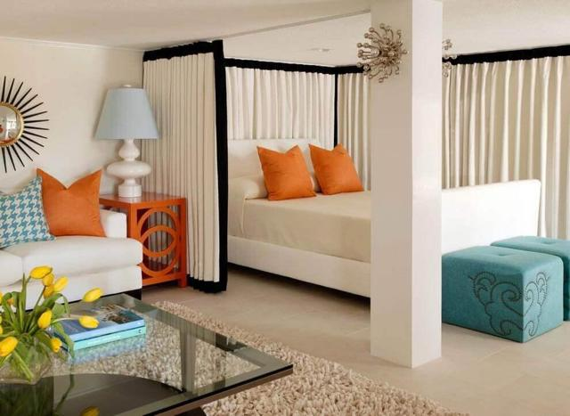 Гостиная и спальня в одной комнате - какой вариант выбрать?