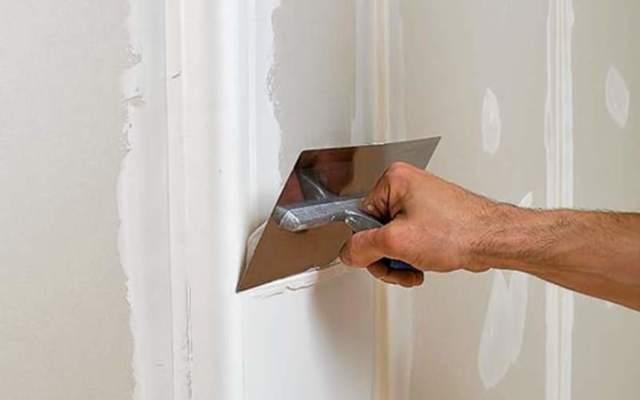 Как шпаклевать гипсокартон под покраску - пошаговые иллюстрированные инструкции