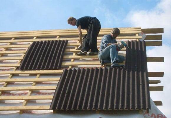 Как крепить ондулин на крышу - подробное пошаговое руководство