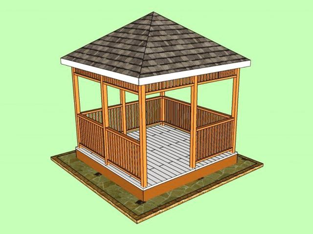 Беседки из дерева своими руками - инструкция по строительству, ТОП-5 основных типов древесины