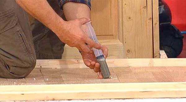 Как убрать скрип деревянного пола - причины скрипа и методы устранения в квартире своими руками