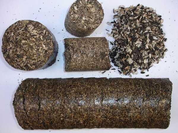 Брикеты для отопления - описание, варианты, изготовление