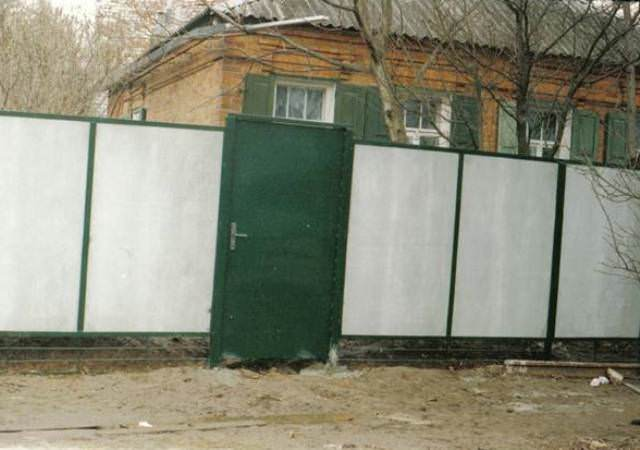 Забор из шифера своими руками - ничего сложного