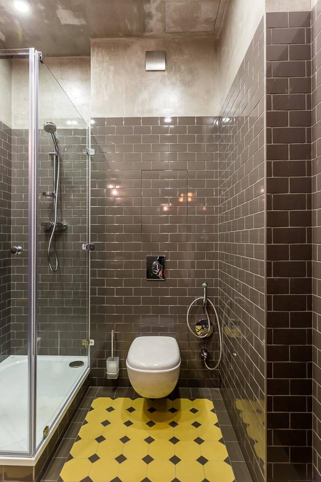 Интерьер ванной комнаты совмещенной с туалетом - несколько креативных рекомендаций