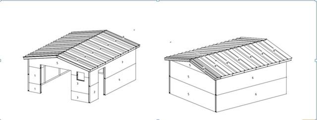 Как сделать гараж из сэндвич панелей самостоятельно