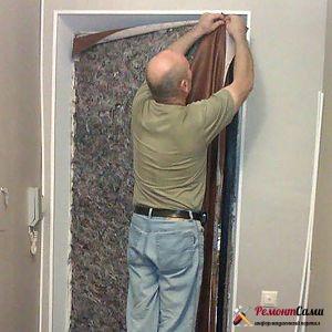 Обшивка двери дерматином своими руками - инструкция, ТОП-12 лучших производителей дверей
