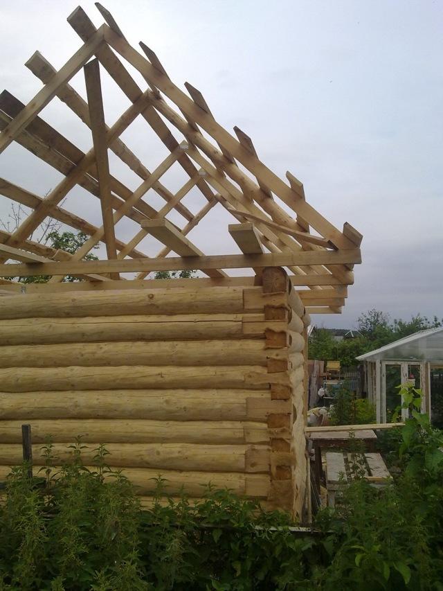 Баня на даче своими руками - пошаговая инструкция