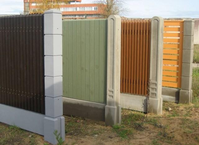 Деревянный забор своими руками - инструкция пошагово