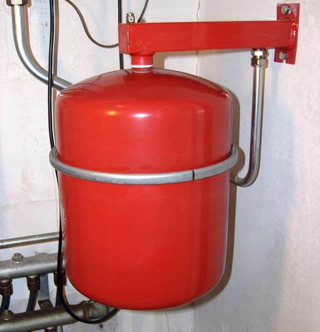 Расширительный бак для системы отопления - выбор и установка расширительного бака