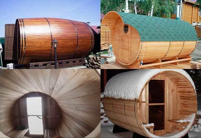 Баня бочка своими руками - изучаем разновидности, выбираем лучшую древесину для изготовления