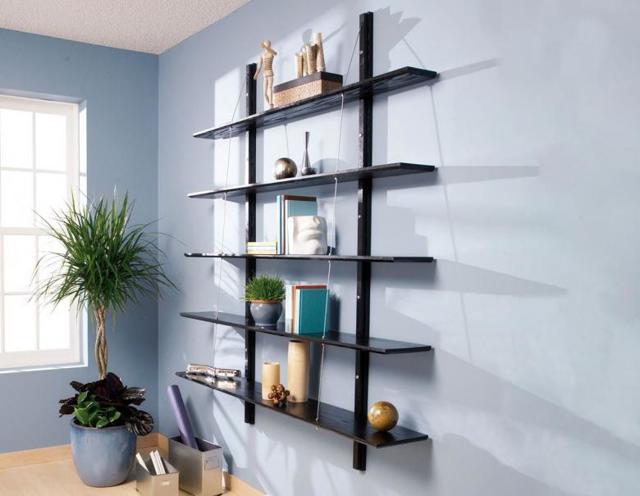 Полки на стену своими руками - 10 лучших вариантов и инструкции