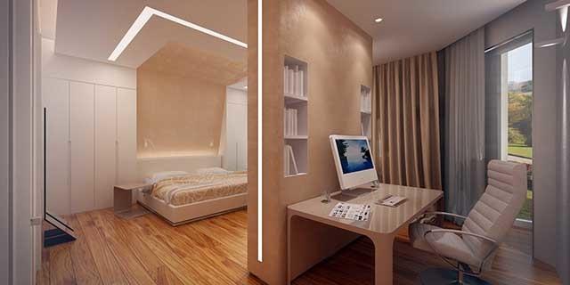 Как сделать перегородку в комнате - несколько доступных технологий.
