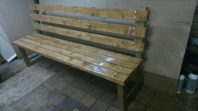 Садовая скамейка своими руками - пошаговые инструкции
