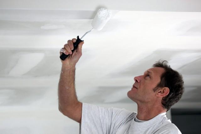 Краска для потолка какая лучше - советы по выбору материала