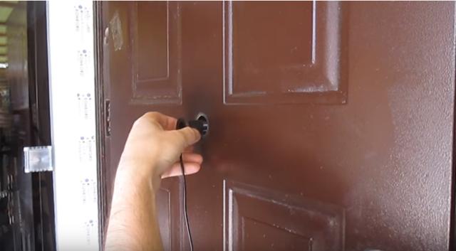 Видеозвонок на дверь в квартиру - виды, модели, монтаж своими руками