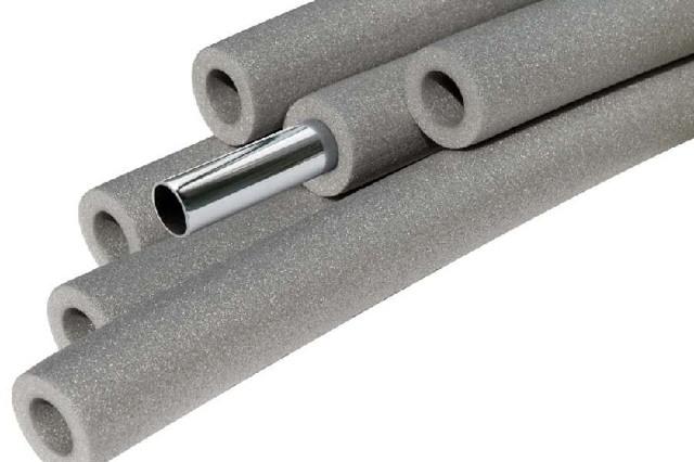 Утеплитель для труб из вспененного полиэтилена - назначение, свойства, монтаж
