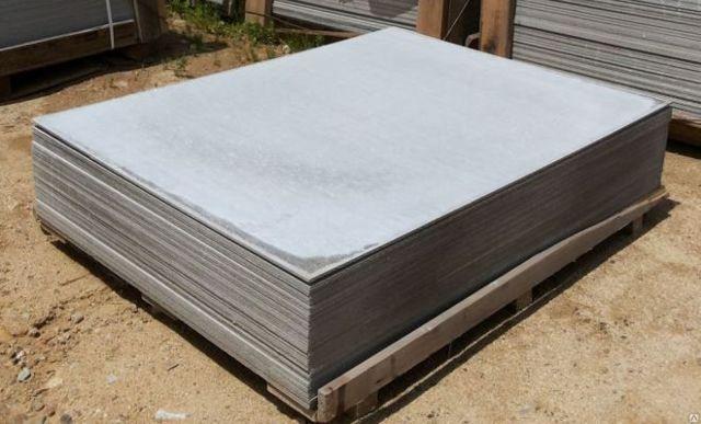 Плоский шифер – размеры, основные характеристики, применение в индивидуальном строительстве