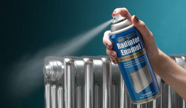 Как покрасить батарею отопления - от выбора краски до техники ее нанесения правильно