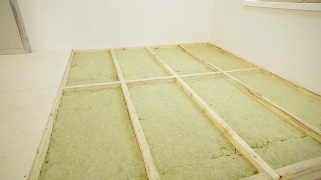 Утеплитель для пола по бетону - разбираемся в разнообразии материалов