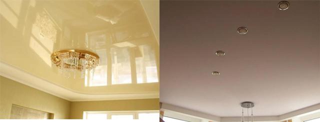 Какие потолки лучше сделать в квартире - подбираем оптимальный вариант